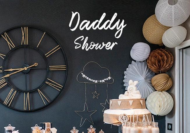 Evènement-Daddy Shower